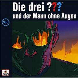Europa - CD Die drei ??? und der Mann ohne Augen, Folge 185