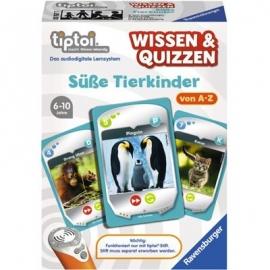 Ravensburger Spiel -tiptoi® Wissen & Quizzen: Süße Tierkinder
