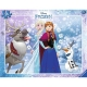Ravensburger Puzzle - Rahmenpuzzle - Anna und Elsa, 40 Teile