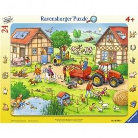 Ravensburger Puzzle - Rahmenpuzzle - Mein kleiner Bauernhof, 24 Teile