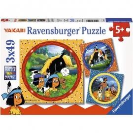 Schmusende Raubkatzen Puzzle 200 Teile Spiel Deutsch 2015 Puzzles & Geduldspiele