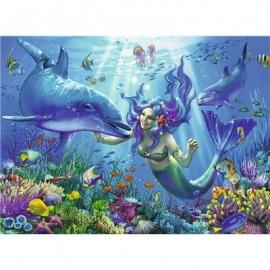 Ravensburger Puzzle - Leuchtpuzzle - Leuchtendes Unterwasserparadies, 200 Teile