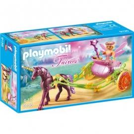 Playmobil® 9136 - Fairies - Blumenfee mit Einhornkutsche