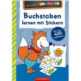 Coppenrath Verlag - Lernerfolg Vorschule: Buchstaben lernen mit Stickern