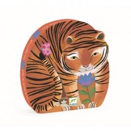 Djeco - (N) Formenpuzzle: The tigers walk - 24pcs