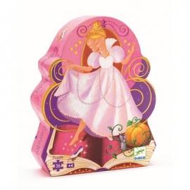 Djeco - Formenpuzzle: Cinderella - 36 pcs