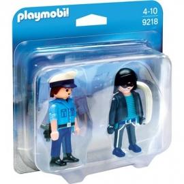 Playmobil® 9218 - Duo Packs - Duo Pack Polizist und Langfinger