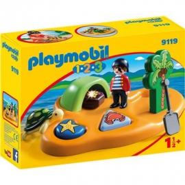 Playmobil® 9119 - 1.2.3. - Pirateninsel