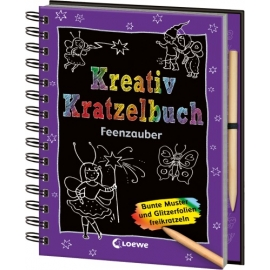 Kreativ Kratzelbuch
