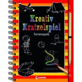 Kreativ-Kratzelspiel: Ferienspaß