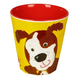 Die Spiegelburg - Melamin-Becher Hund Freche Rasselbande