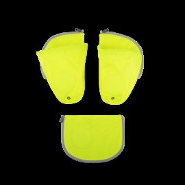ergobag pack Sicherheitsset mit Flaschenhalter Gel