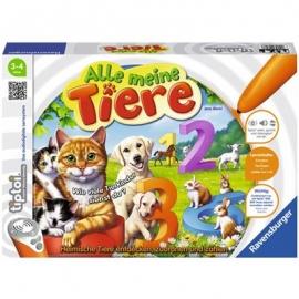 Ravensburger Spiel - tiptoi - Alle meine Tiere