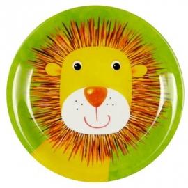 Die Spiegelburg - Kleiner Melamin-Teller Löwe Freche Rasselbande