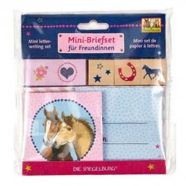 Die Spiegelburg - Mini-Briefset für Freundinnen Pferdefreunde