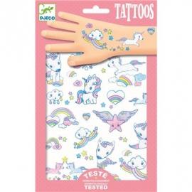 Djeco - Tattoos - Unicorns