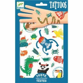 Djeco - Tattoos:Tiere