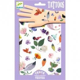Djeco - Tattoos: Vögelchen