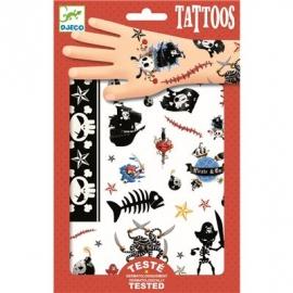 Djeco - Tattoos - Piraten
