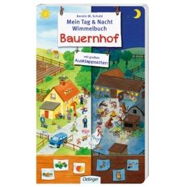 Tag & Nacht Wimmelbuch Bauernhof