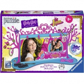 Ravensburger Puzzle - 3D Puzzles - Girly Girl Edition - Schmuckbäumchen  Soy Luna, 108 Teile