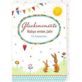 Coppenrath Verlag - Glücksmomente - Babys erstes Jahr (33 Fotokarten)