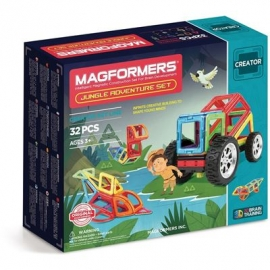 Magformers - Creator Set Line - Magformers Jungle Adventure Set