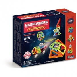 Magformers - Vehicle Set Line - Magformers Space Wow Set