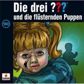 Europa - CD Die drei ??? und die flüsternden Puppen, Folge 180