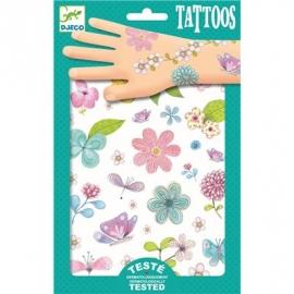 Djeco - Tattoos - Feldblumen