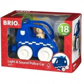 BRIO - Toddler Push Alongs - Polizei-Flitzer mit Licht & Sound