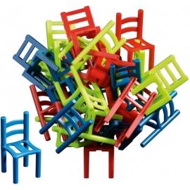 Stuhl auf Stuhl sort.