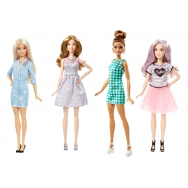 Mattel - Barbie - Fashionistas Glam Party Puppe, sortiert
