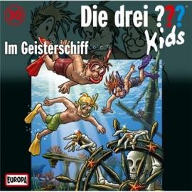 Europa - CD Die drei ??? Kids Im Geisterschiff, Folge 30