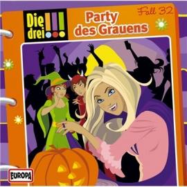 Europa - CD Die drei !!! Party des Grauens, Folge 32
