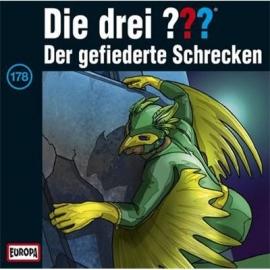 Europa - CD Die drei ??? Der gefiederte Schrecken, Folge 178