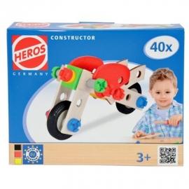 HEROS - Constructor - Motorrad, 40tlg.