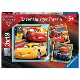 Ravensburger Puzzle - Bunte Flitzer, 49 Teile