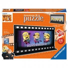Ravensburger Puzzle - 3D Puzzles - Filmstreifen Ich - einfach unverbesserlich 3, 108 Teile