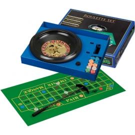 Roulette Set mit Kunststoff-Teller 30cm