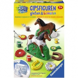 Ravensburger Spiel - Gipsfiguren gießen - Pferd