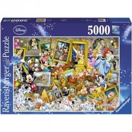 Ravensburger Puzzle - Micky als Künstler, 5000 Teile