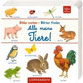 Coppenrath Verlag - Bilder suchen - Wörter finden - Alle meine Tiere!