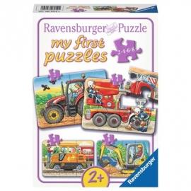 Ravensburger Puzzle - my first Puzzle - Bei der Arbeit, 8 Teile