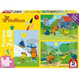 Schmidt Spiele - Die Maus - Viel Spaß mit der Maus, 48 Teile