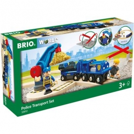 BRIO Bahn - Polizei Goldtransport-Set