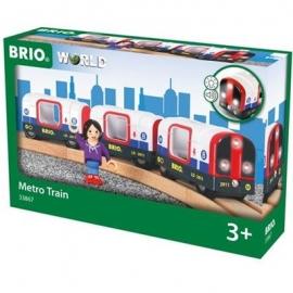 BRIO Bahn - U-Bahn mit Licht und Sound