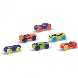 Hasbro - Nerf Nitro Soft Racer 6er Pack