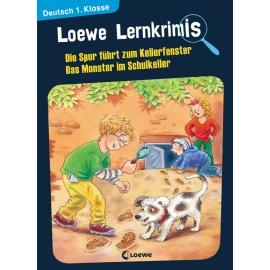 Lernkrimis - Kellerfenster / Monster 1.