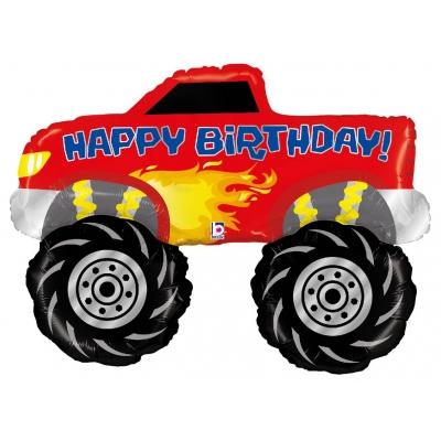 Happy Birthday Monster Truck 40